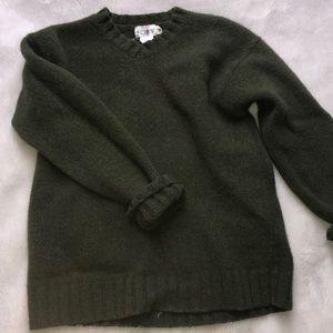 100% wool Vintage j crew pullover
